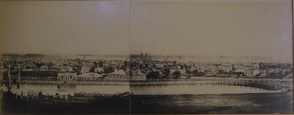 Earliest Photograph of Montreal 1858