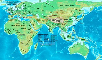 Oghuz Turks - The Old World in 600 AD