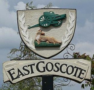 East Goscote - East Goscote village sign