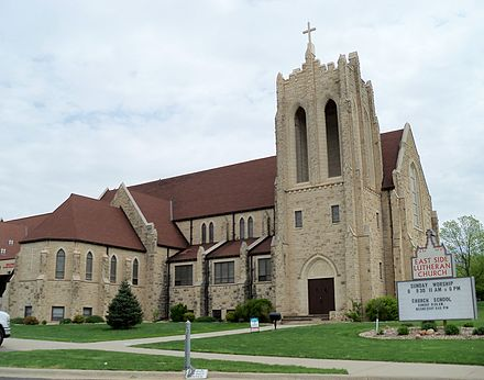 East Side Lutheran Church in Sioux Falls East Side Lutheran Church Sioux Falls 2.JPG