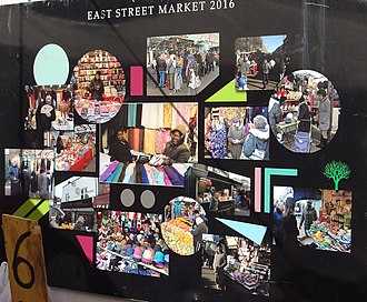 East Street Market - Image: East Street Market 2016