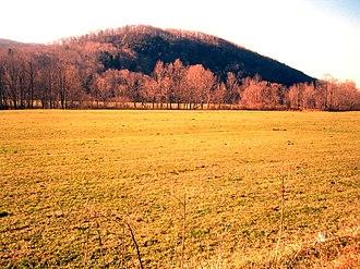 Rupert, Vermont - Countryside in eastern Rupert