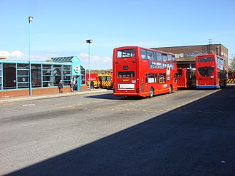 Edgware bus station - Image: Edgware bus station 055