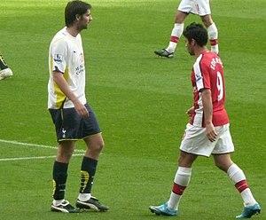 Eduardo da Silva - Eduardo with Arsenal against Tottenham Hotspur in 2009.