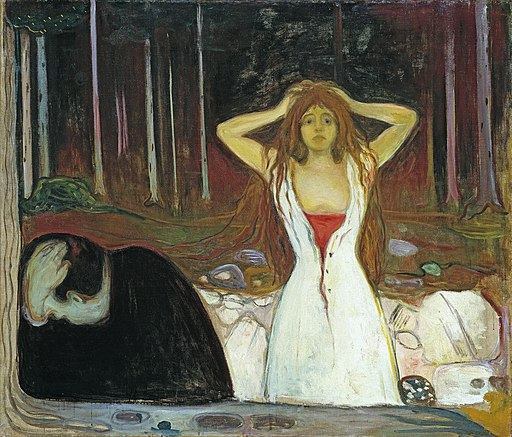 Edvard Munch - Ashes (1895)