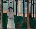 Edvard Munch - Summer Night's Dream. The Voice (1893).jpg