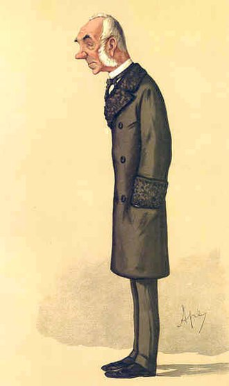 Edward Thornton, 2nd Count of Cacilhas - Caricature by Ape published in Vanity Fair in 1886.