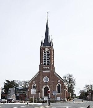 Avelin - Image: Eglise Avelin