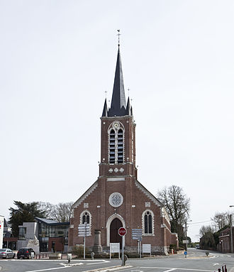 Avelin - The church in Avelin