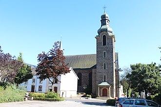 Troisvierges - Image: Eglise Saint André Troisvierges 01