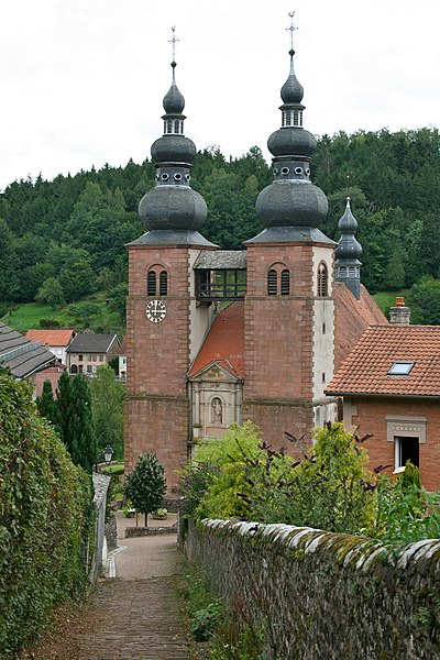 Eglise priorale de Saint-Quirin