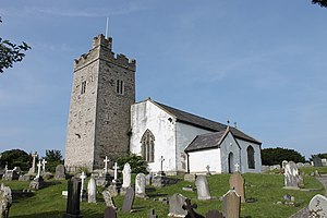 Rhos-on-Sea - Image: Eglwys Sant Trillo, Llandrillo yn Rhos, St Trillo, Rhos on Sea, Conwy 33
