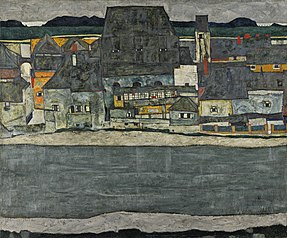 Houses on the River (The Old Town)