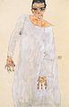 Egon Schiele - Selbstbildnis im weißen Gewand - 1911.jpeg