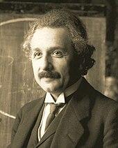 Albert Einstein em 1921.