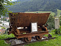 Eisenerz - beim Schichtturm ausgestellter Kipphunt.jpg