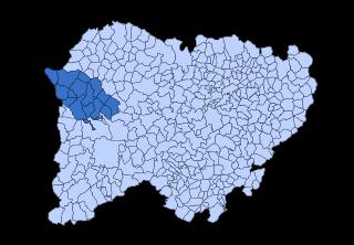 El Abadengo Comarca in Castile and León, Spain