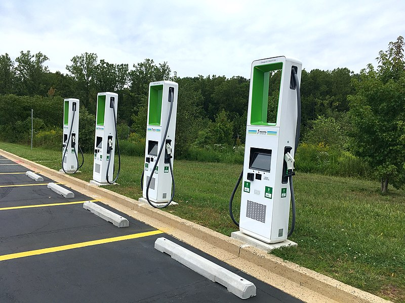 File:Electrify America SuperChargers.jpg
