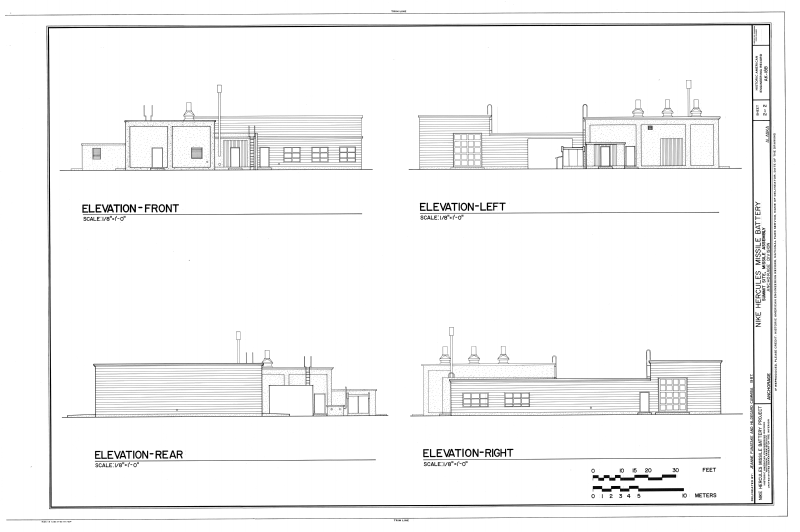 File elevation front elevation left elevation rear for What is rear elevation