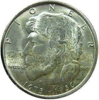 Elgin, Illinois, Centennial half dollar 1936 commemorative U.S. coin