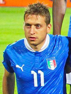 Emanuele Giaccherini Italian footballer