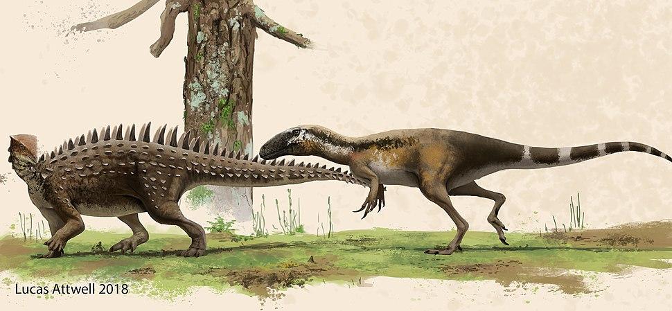 Emausaurus Hagen Theropod