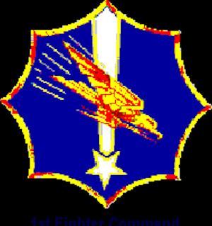 I Fighter Command - Image: Emblem of I Fighter Command World War II