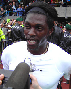 Adebayor in 2006