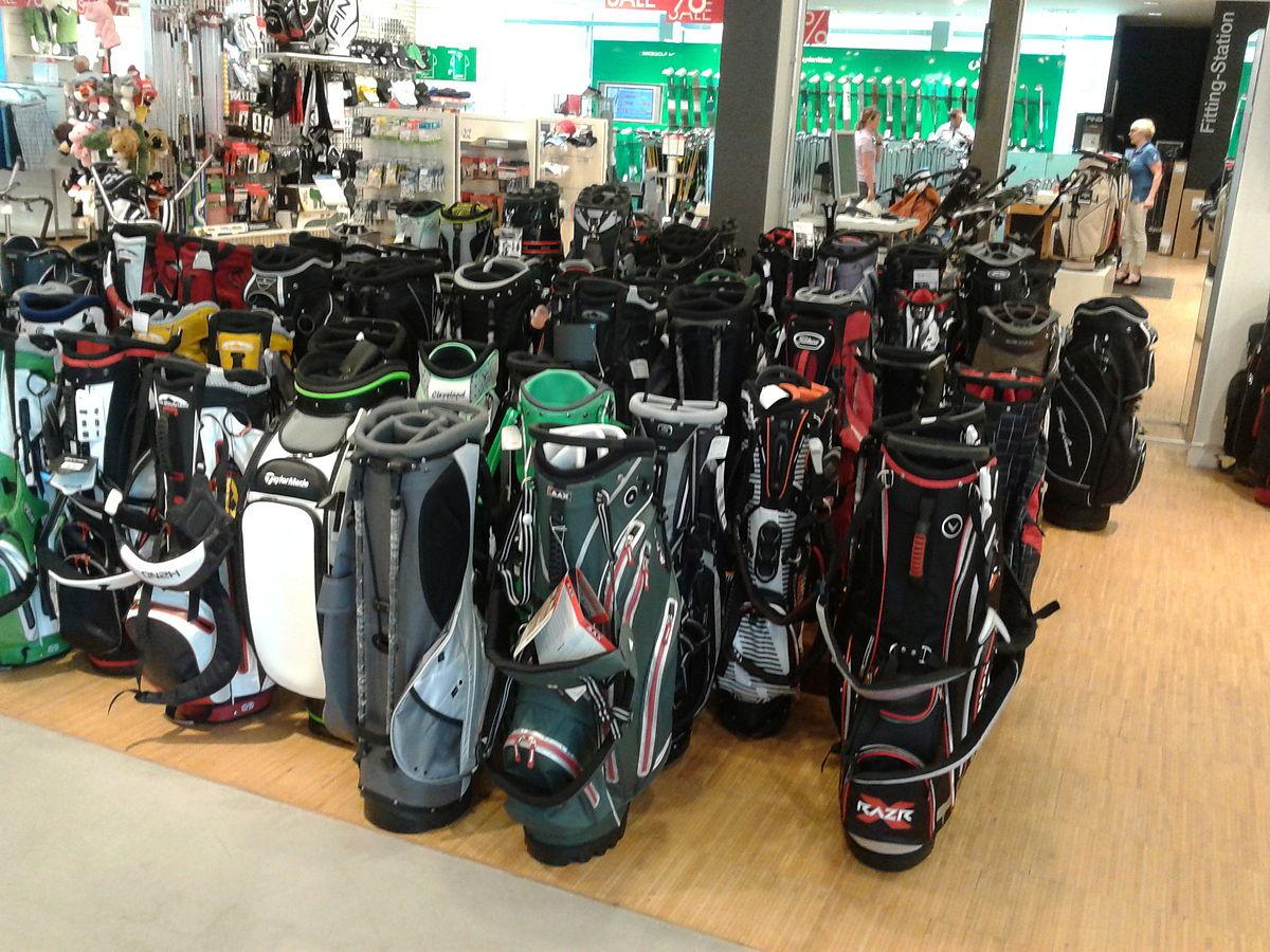 vad väger en golfbag med klubbor