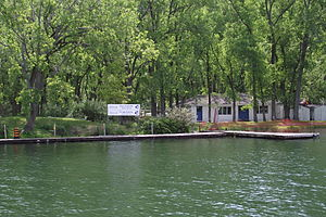 Island Yacht Club - IYC is accessible by water via private club tender.