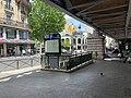 Entrée Station Métro Barbès Rochechouart Paris 3.jpg