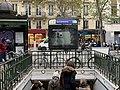 Entrée Station Métro St Ambroise Paris 3.jpg