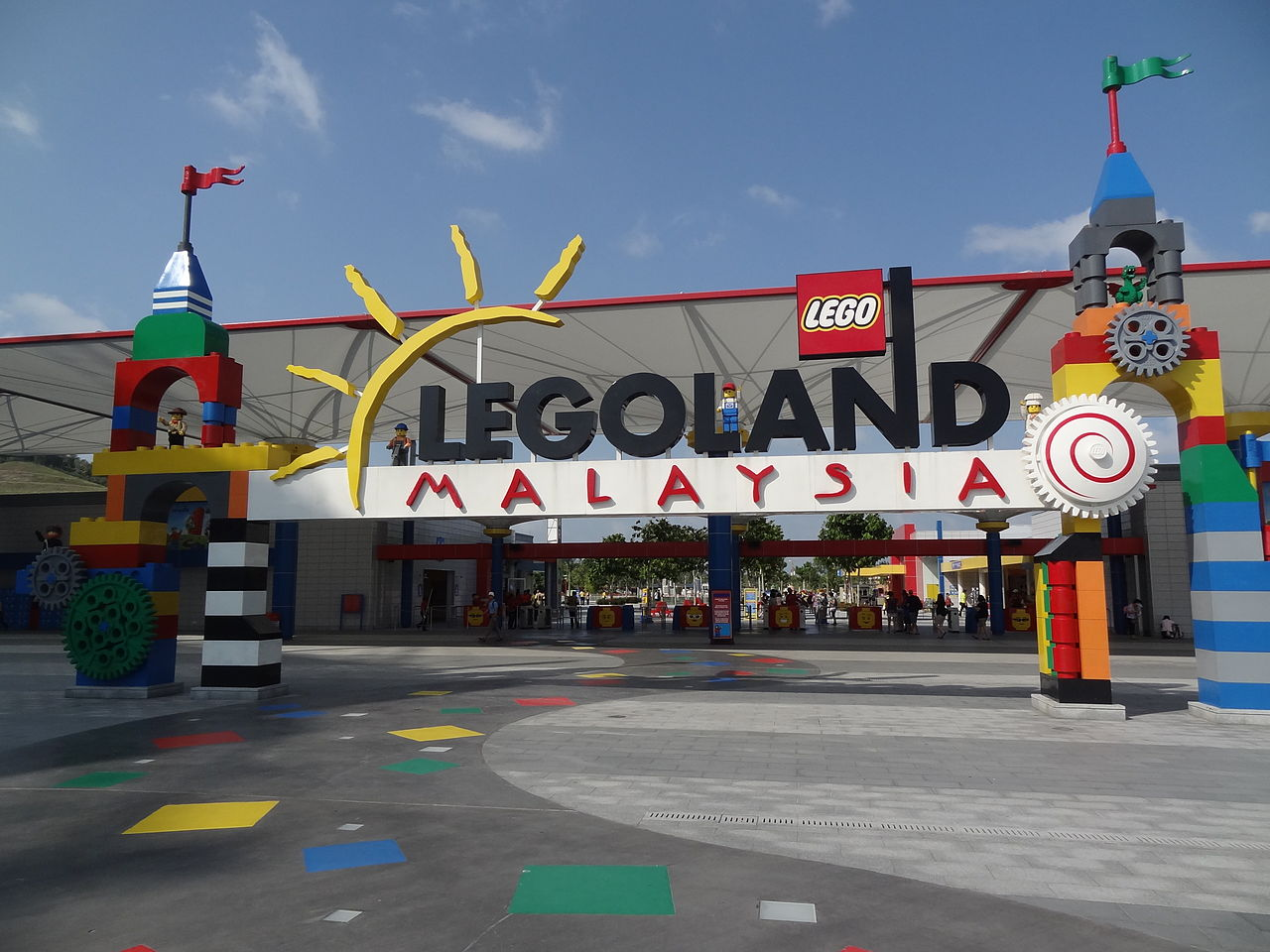 Fichier:Entrance Legoland Malaysia.jpg — Wikipédia