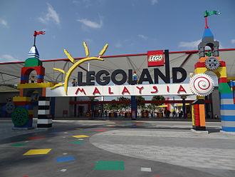 Iskandar Puteri - Entrance of Legoland Malaysia