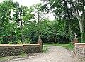 Entrance to Cromer Hall - geograph.org.uk - 839047.jpg