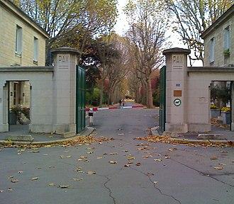 Saint-Ouen Cemetery - Main entrance.
