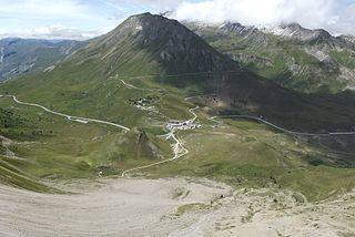 Col du Lautaret mountain pass