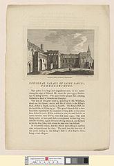 Episcopal Palace, at St. David's, Pembrokeshire