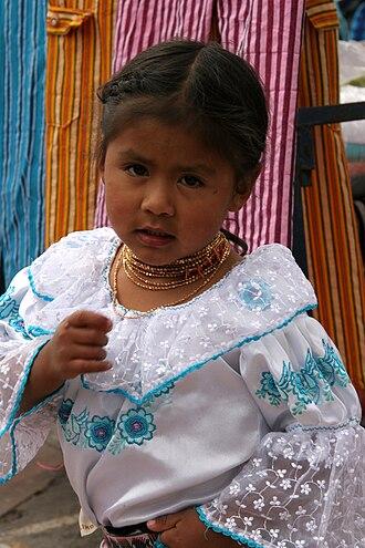 Ecuadorians - Otavalo girl from Ecuador