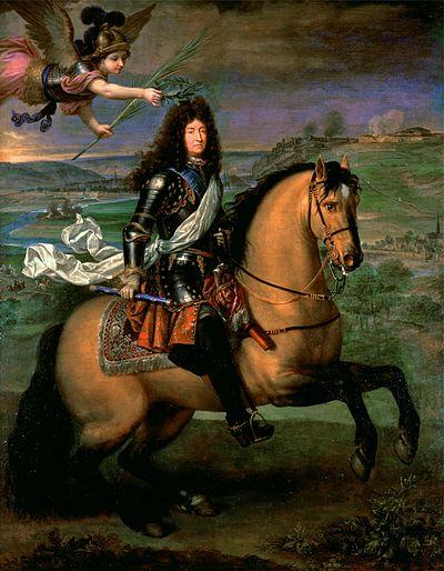 アウクスブルク同盟戦争の頃のルイ14世。作者不明、1692年。