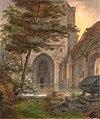 Ernst Ferdinand Oehme - Portal einer Kirche.jpg
