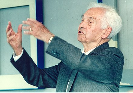 Ernst Mayr proposed the widely used Biological Species Concept of reproductive isolation in 1942. Ernst Mayr PLoS.jpg