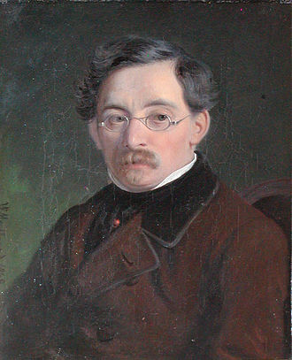 Ernst Meyer (painter) - Ernst Meyer, portrait by  Wilhelm Marstrand (1848)