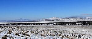 Escalante Desert - Escalante Desert looking southwest from the Lund Highway