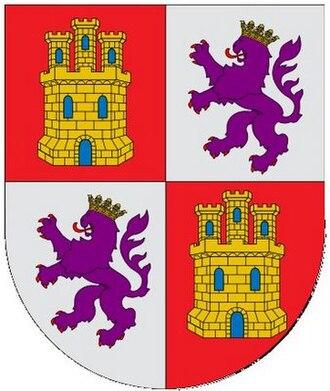 Alfonso Fernández el Niño - Arms of Castile and León.