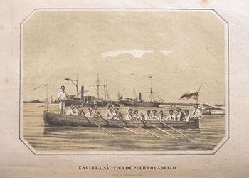 Escuela Na%C3%BAtica de Puerto Cabello 1866