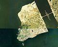 Eshima Island in Lake Nakaumi Aerial photograph.1976.jpg