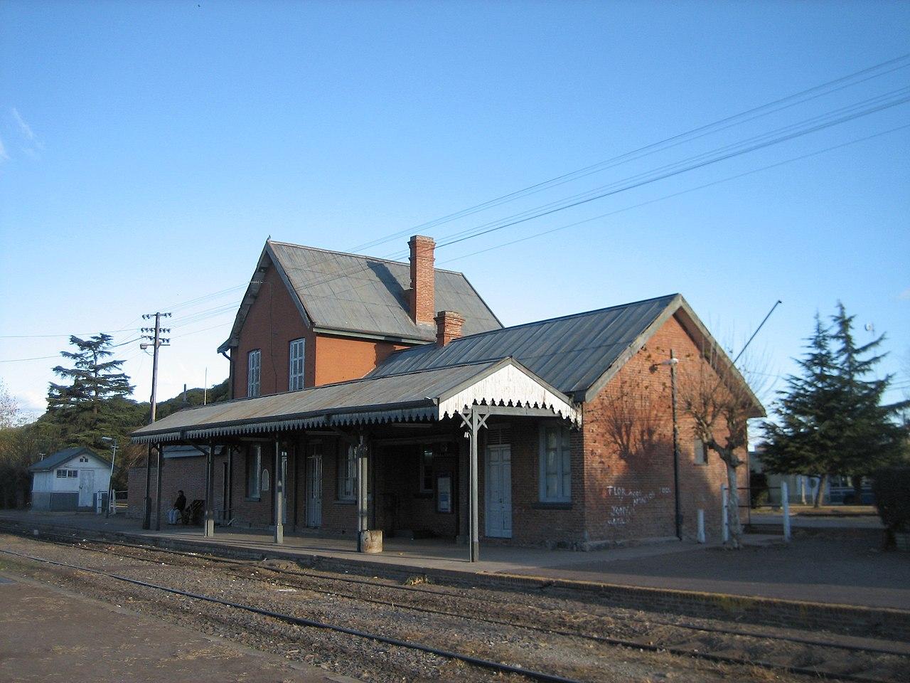 Pueblos de Buenos Aires tren capilla del señor