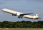 Etihad Airways Boeing 777-300ER (A6-ETA) in new livery.jpg