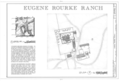 Eugene Rourke Ranch, 19 miles east of U.S. Highway 350, Model, Las Animas County, CO HABS COLO,36-MOD.V,7- (sheet 1 of 1).png
